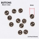 BUTTONS Black